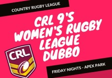 Dubbo CRL Women and Girls Nines rules